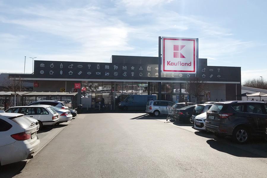 HEIM baute das Kaufland in Steinheim