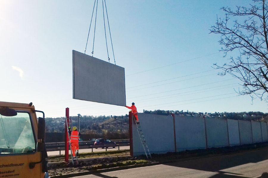 Bau einer Lärmschutzwand – HEIMWERKER in Action